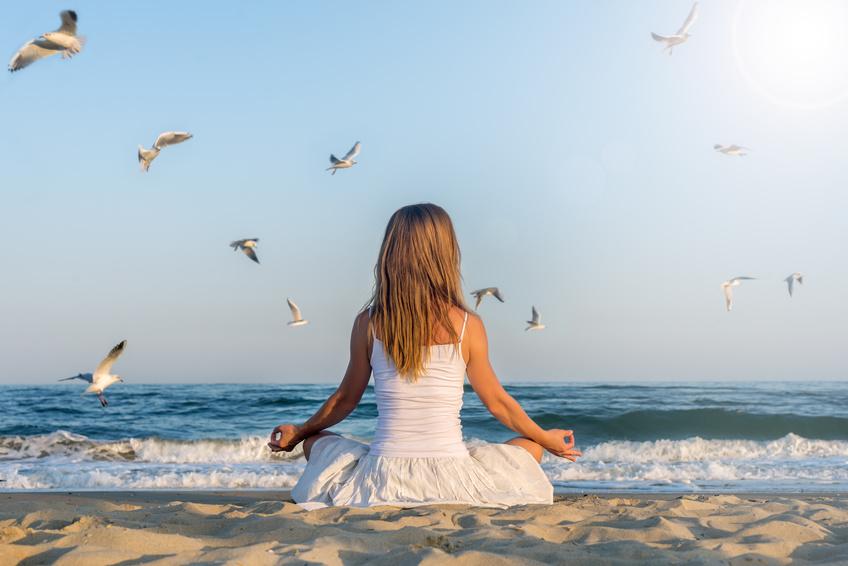 In Mecklenburg-Vorpommern gibt es viele Orte zur Meditation.