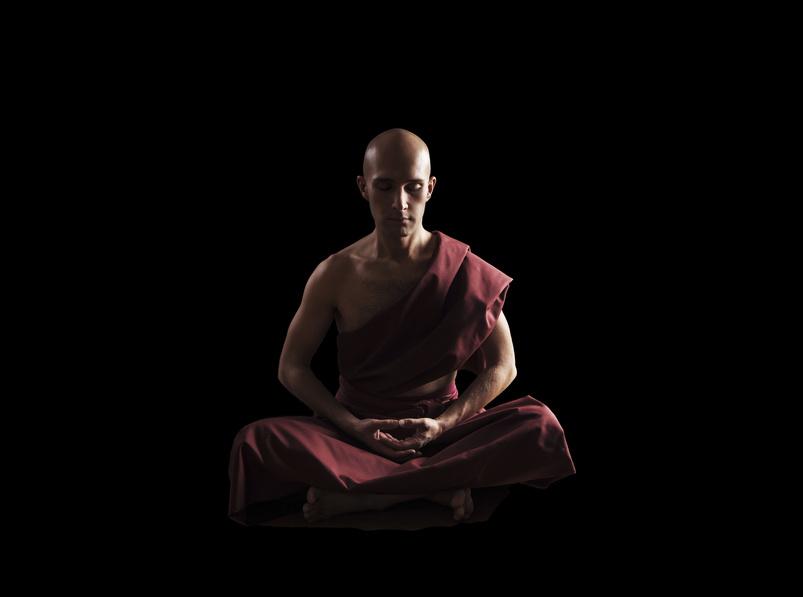 Buddhistische Mönche meditieren den ganzen Tag und machen sich ein schönes Leben! ODer ist das ein Klischee?