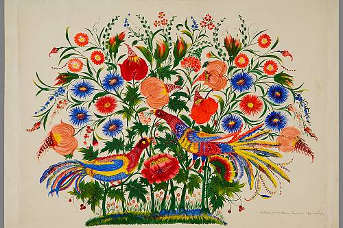 Petrykivka Decorative Painting As A Phenomenon Of The Ukrainian Ornamental Folk Art Intangible Heritage Culture Sector Unesco