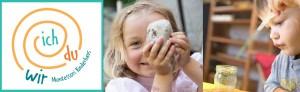 Kinder im IchDuWir Montessori Kinderhaus