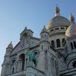歐洲自助蜜月 法國巴黎聖心堂-越夜越美麗