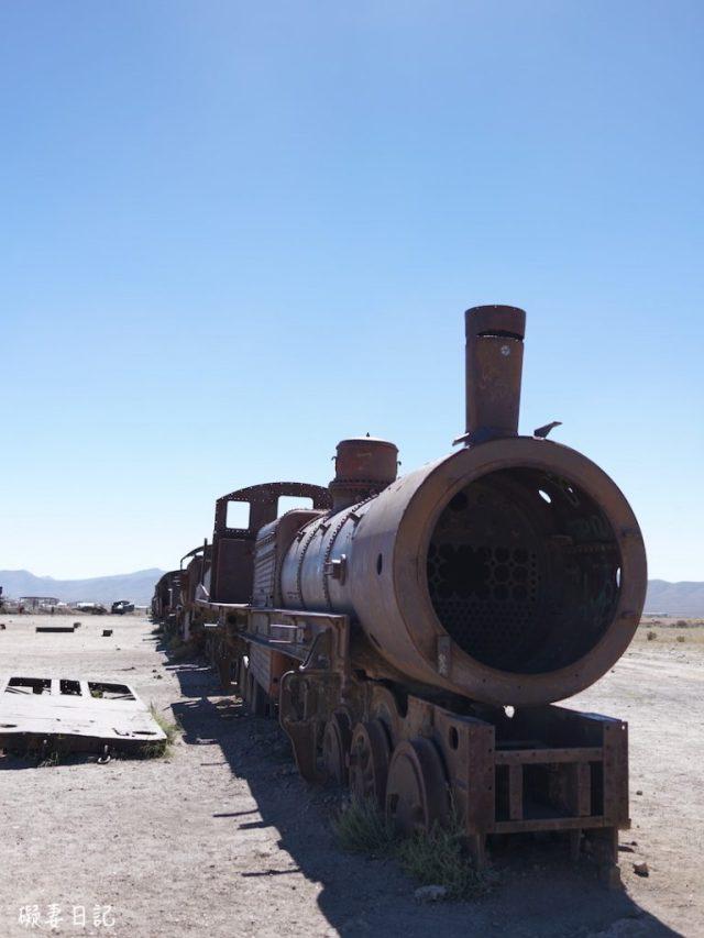 玻利維亞 Uyuni 三日團, 火車墳場 Train Cemetery