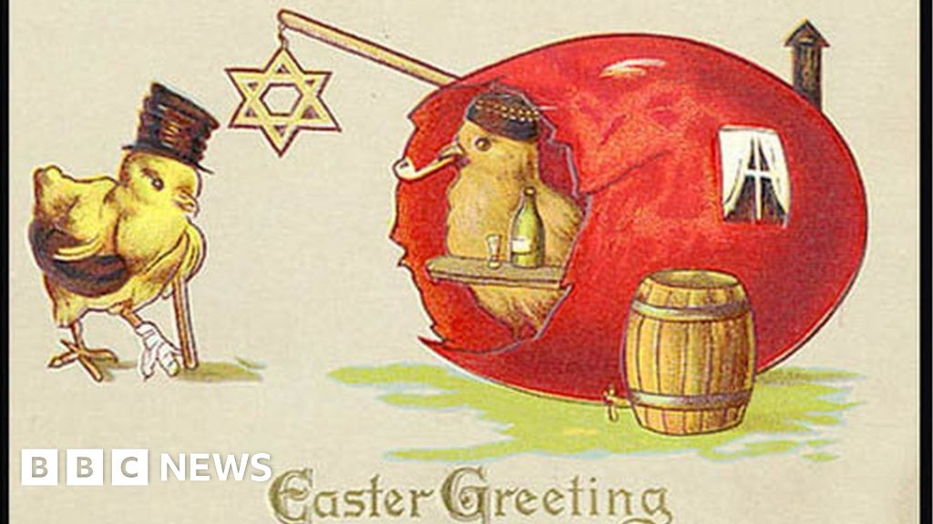 The Odd World Of Victorian Easter Cards BBC News
