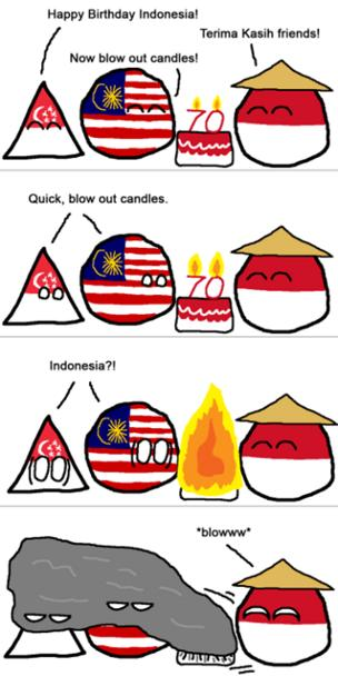 Meme about the haze