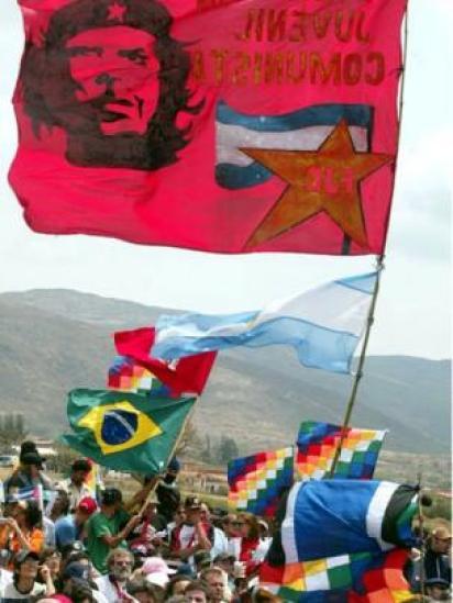 Fãs de Che Guevara em Vallegrande