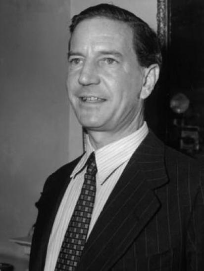 Kim Philby, un doble agente que se hizo famoso luego de desertar a la Unión Soviética.