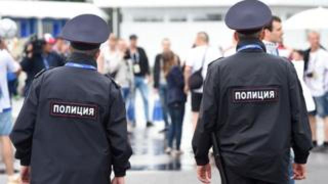 File pic of Russian police