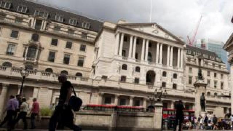 Bank of England on London's Threadneedle Street