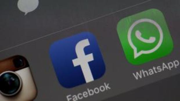 Facebook and WhatsApp apps