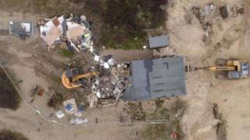 Hemsby demolition