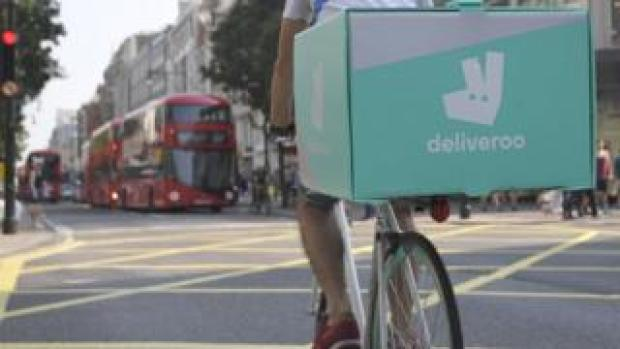 Deliveroo driver