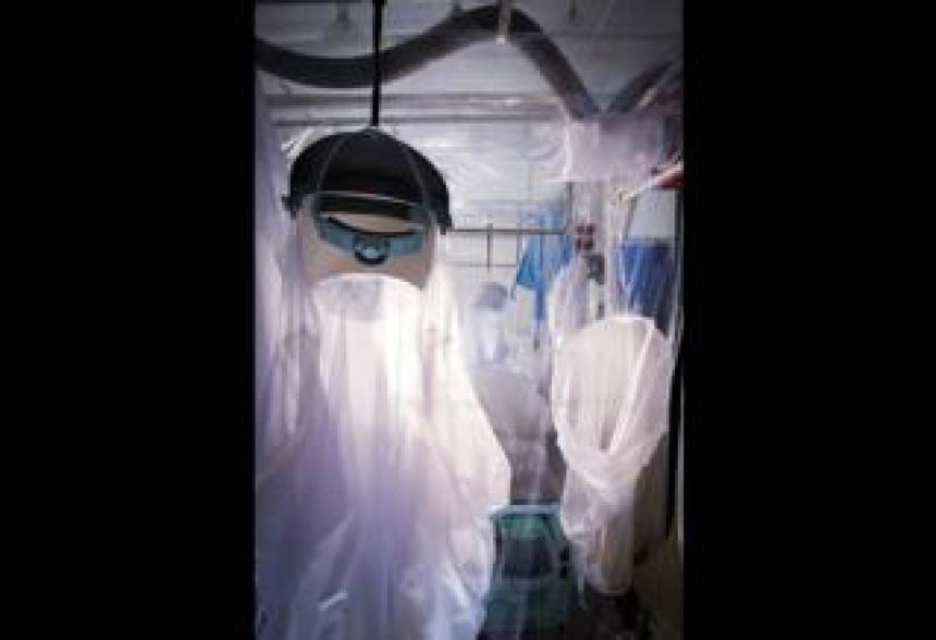 Infectious disease containment unit - David Bishop, Royal Free Hospital, London
