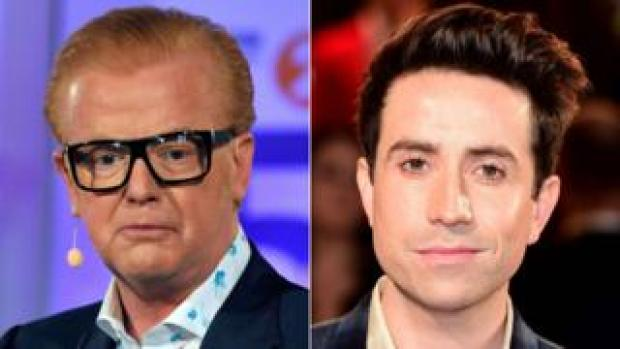 Chris Evans and Nick Grimshaw