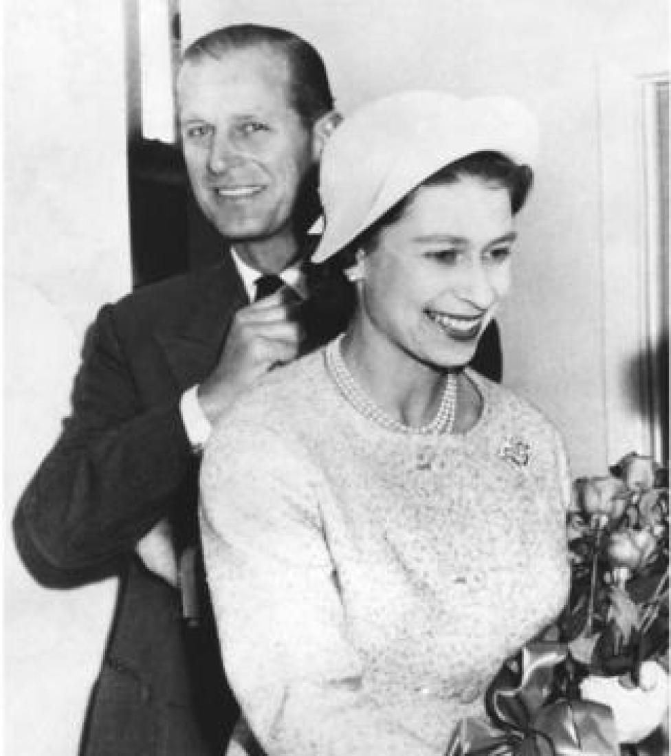 Королева Елизавета и принц Филипп, 1959 год