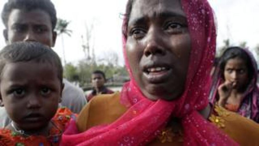 Rohingyas newly arrived in Bangladesh - 13 September