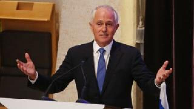Malcolm Turnbull says the changes will put Australians first