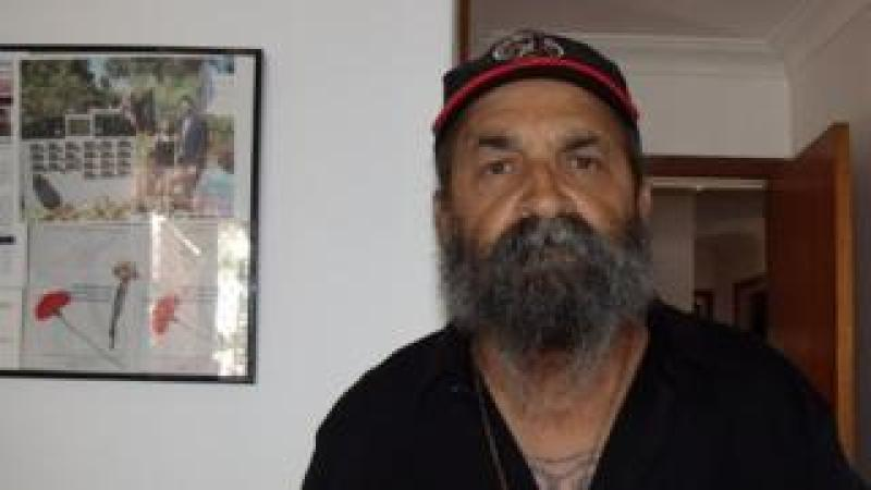 Indigenous Australian man Garry Smith