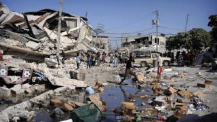 Haiti in 2010