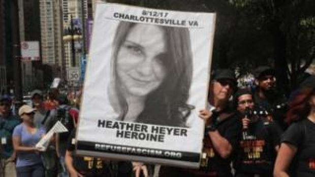 Heather Heyer banner