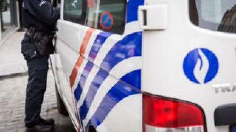 File pic of Belgian police car