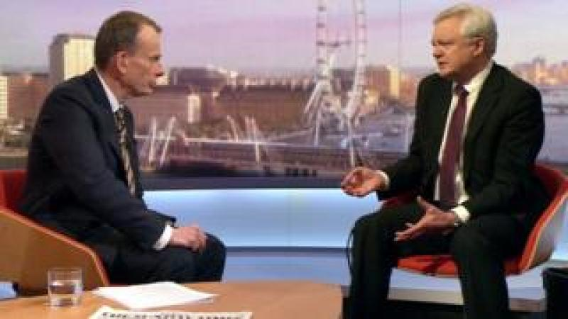 Andrew Marr and David Davis