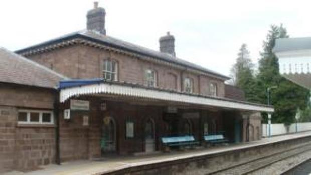 Abergavenny rail station