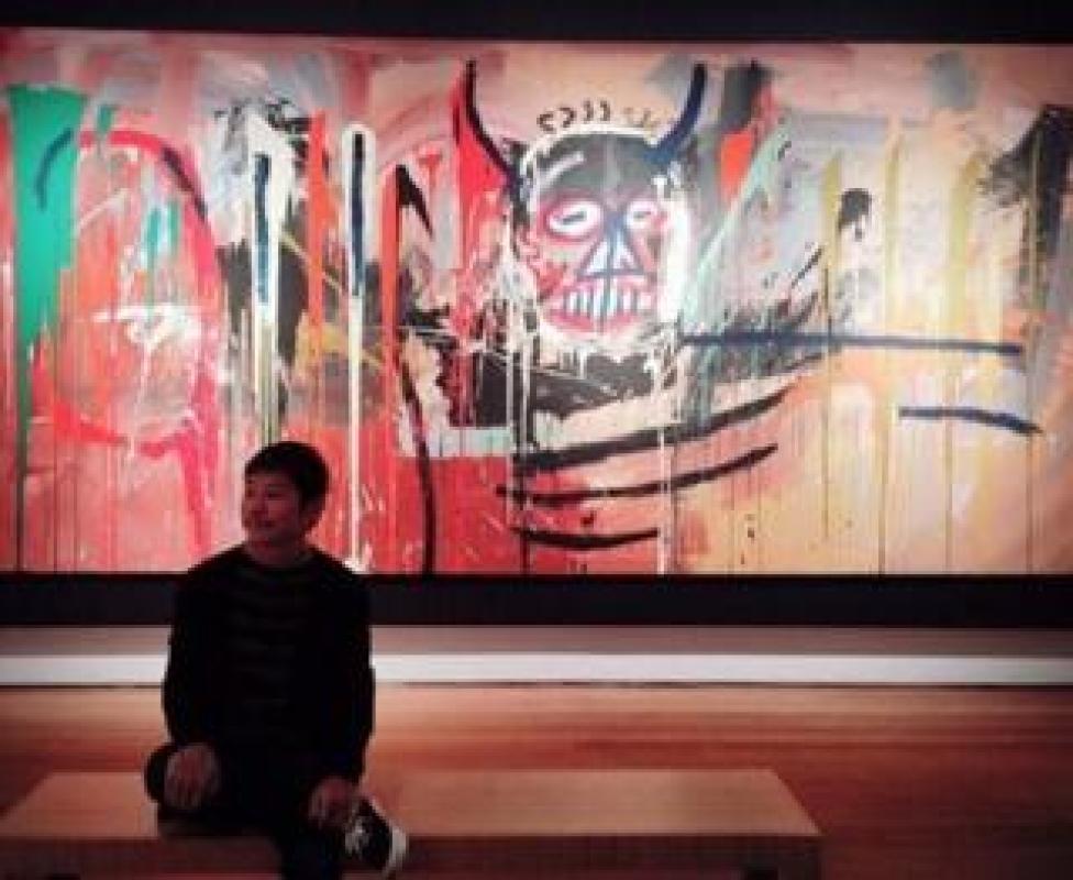 "Instagram post from Yusaku Maezawa: ""Jean-Michel Basquiat is coming to Japan"""