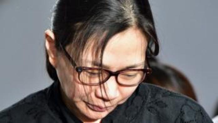 Korean Air heiress Heather Cho