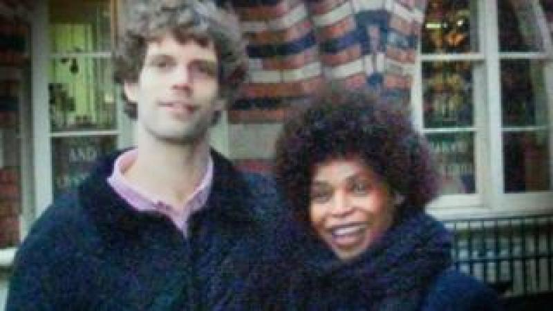 Mark van Dongen and Berlinah Wallace