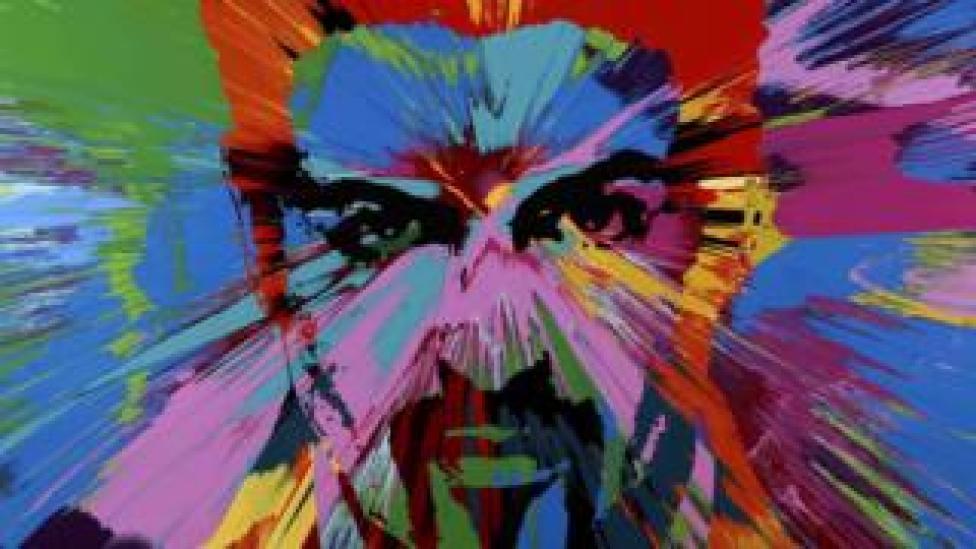 Beautiful Beautiful George Michael Love Painting