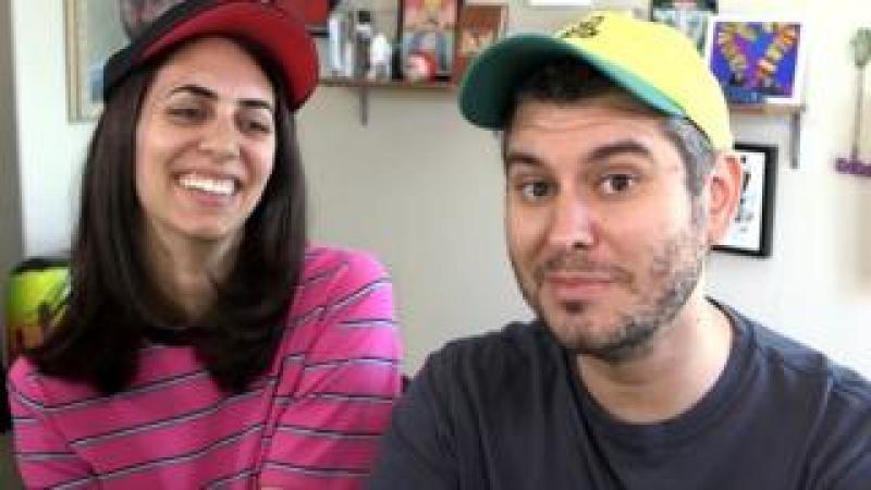 Hila and Ethan Klein
