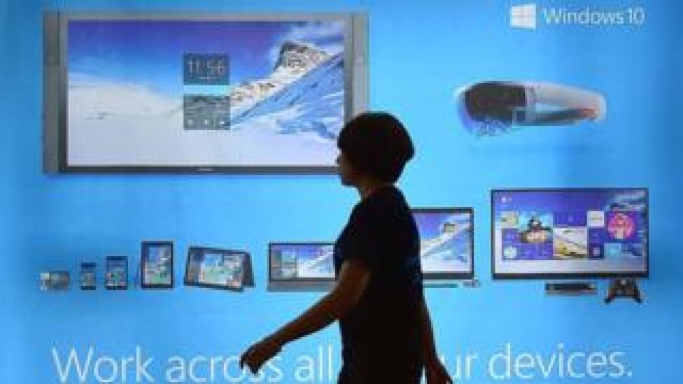 Windows 10 display