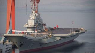 Trung Quốc đã có hàng không mẫu hạm.