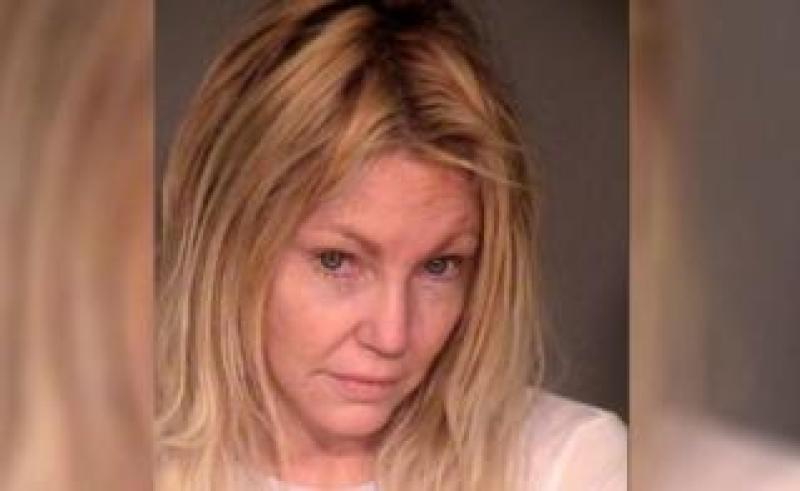 Heather Locklear's post-arrest mugshot