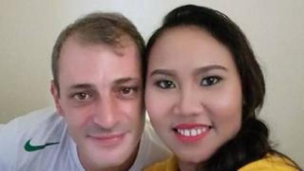 Tarek Naggar and fiancee