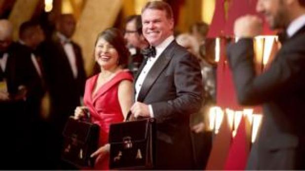 Martha Ruiz and Brian Cullinan of PriceWaterhouseCoopers