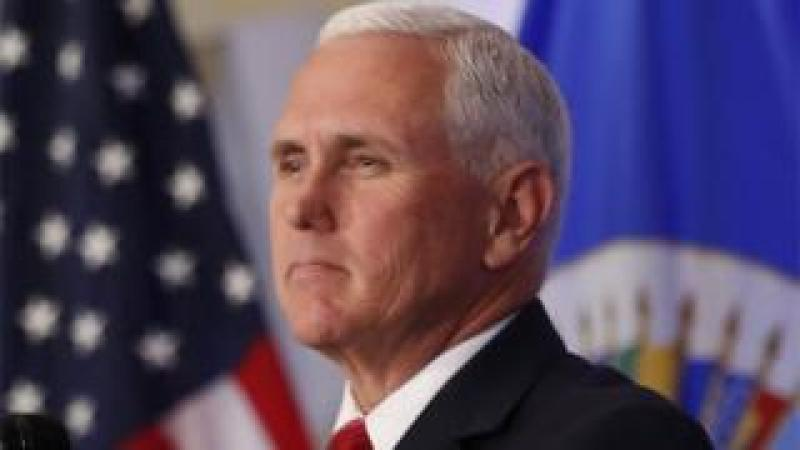 Vice-President Mike Pence in Washington, DC.