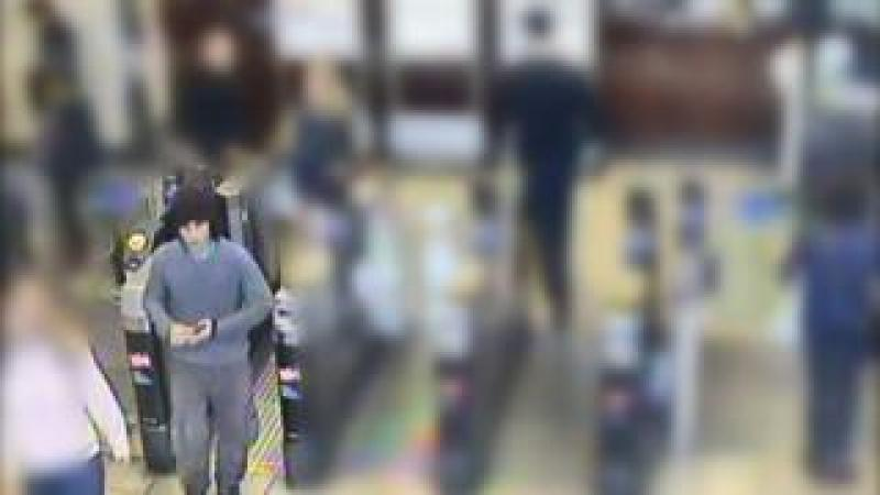 CCTV allegedly showed Ahmed Hassan exiting the station before Parsons Green