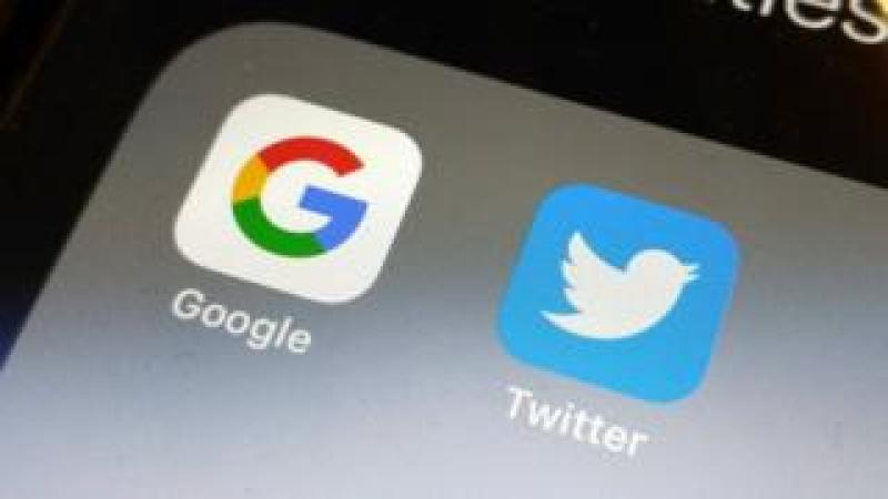 Google and Twitter apps