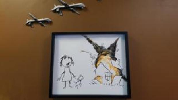 Civilian Drone Strike, by Banksy