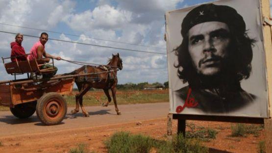 Hình Che ở Cuba ngày nay