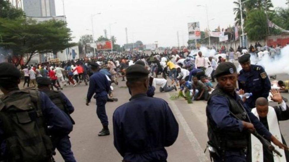 Kumeshuhudiwa ghasia na maandamano nchini kumshinikiza rais Joseph Kabila aondoke madarakani