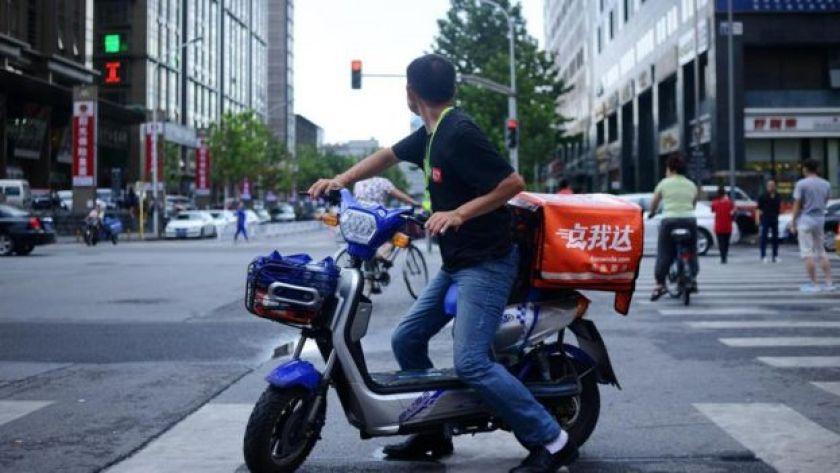 Motorsikletle eve teslim