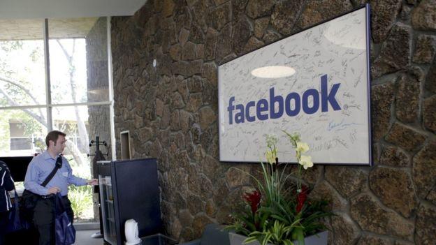 Oficinas de Facebook.