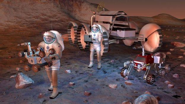 Artist's concept Nasa/JPL-Caltech