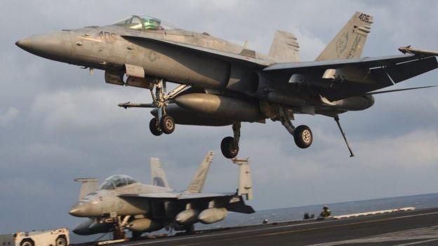 Phi cơ Hoa Kỳ tập trận ở Hàn Quốc tháng 3/2017