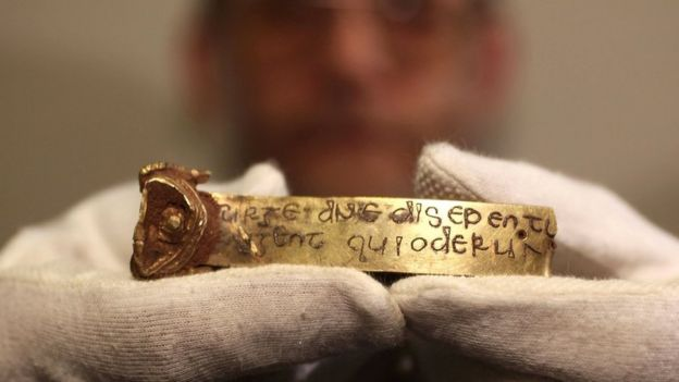 Treasure from the Staffordshire Hoard