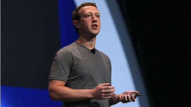 Mark Zuckerberg, CEO at Facebook