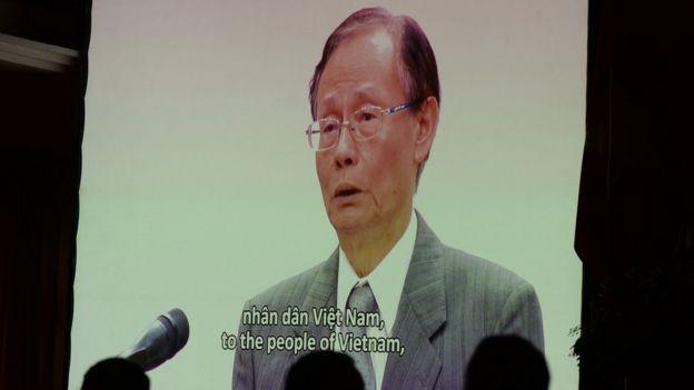 Chủ tịch Formosa Hà Tĩnh Trần Nguyên Thành xin lỗi trong video ngày 30/6