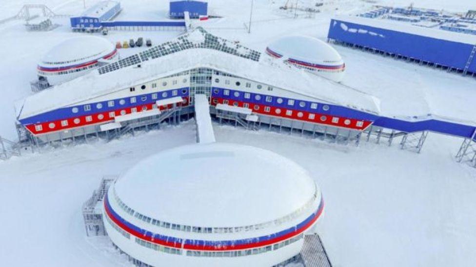 Base militar rusa Arktichesky Trilistnik.